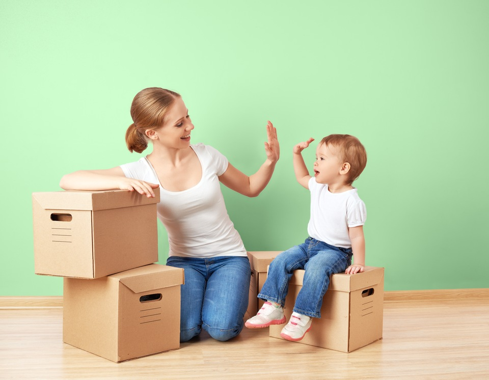 Moving With Kids: How to Keep Them Safe